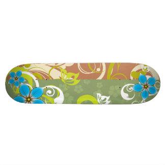 Modern Floral Ornament 20.6 Cm Skateboard Deck
