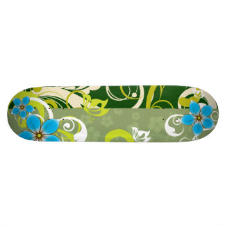 Modern Floral Ornament 20 Cm Skateboard Deck