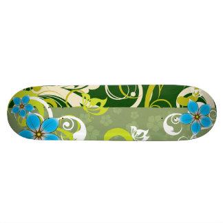 Modern Floral Ornament Skate Board Decks