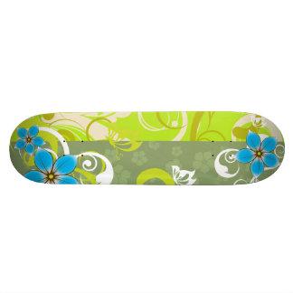 Modern Floral Ornament Skateboards