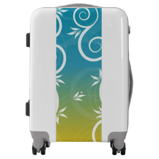 Modern Floral Pattern Luggage