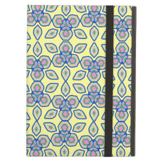 Modern Floral Shapes Fresh Pattern iPad Air Cases