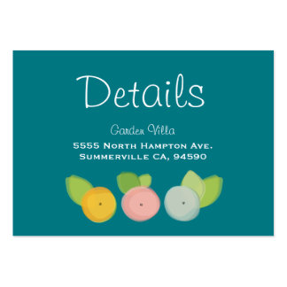 Modern Floral Watercolor Wedding Collection Pack Of Chubby Business Cards