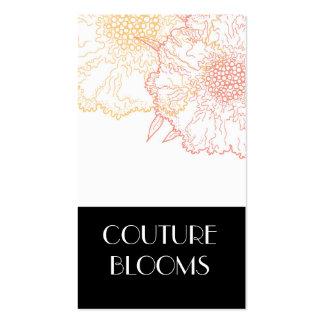 Modern Florist Business Cards