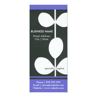 "Modern Flower Business Pamphlet 4"" X 9.25"" Invitation Card"