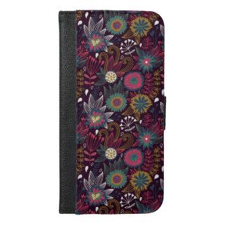 Modern Flower Pattern iPhone 6 Plus Case