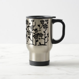 Modern Flowers Travel Mug