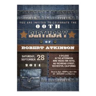 modern fun birthday party invitations