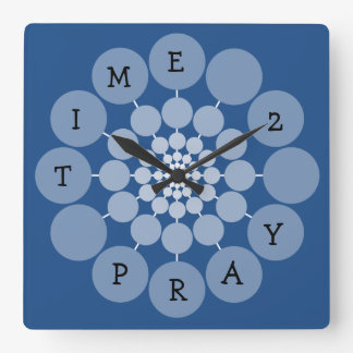 Modern Fun Time 2 Pray Clock