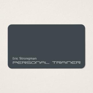 Modern futuristic minimalistic business card