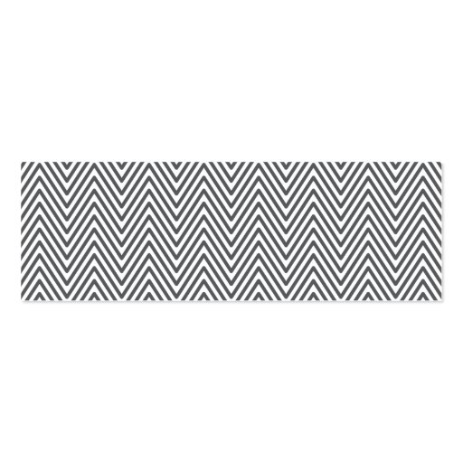 Modern generic elegant chevron zigzag personal business card template