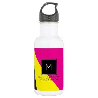Modern Geo Colors 532 Ml Water Bottle