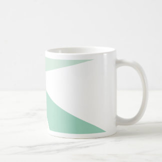 Modern Geometric Art Retro Color Burst Coffee Mug