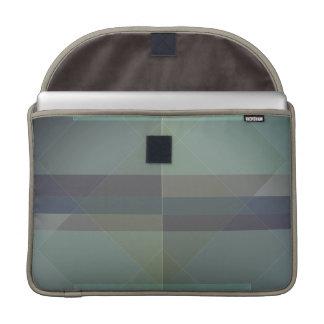 Modern Geometric blocks MacBook Pro sleeve design