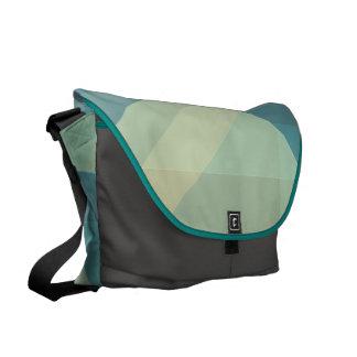 Modern Geometric blocks messenger bag, purse Commuter Bags