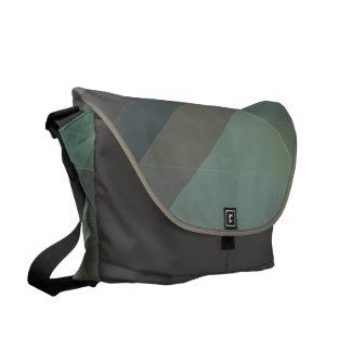 Modern Geometric blocks messenger bag, purse Messenger Bag
