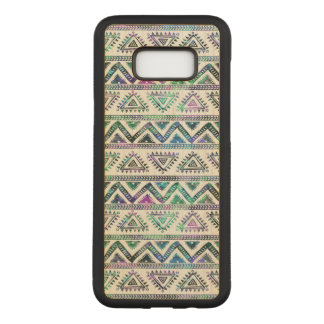 Modern Geometric Colorful Tribal Pattern Carved Samsung Galaxy S8+ Case