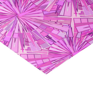 Modern Geometric Mosaic, Violet and Orchid Tissue Paper