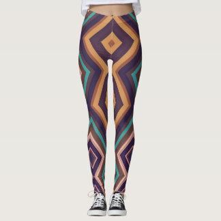 Modern Geometric Pattern Art Vita2 Leggings
