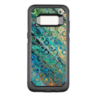 Modern Geometric Pattern OtterBox Commuter Samsung Galaxy S8 Case
