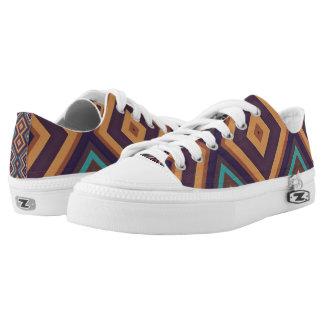 Modern Geometric Pattern Vita2 Sneakers Shoes