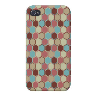 Modern Geometric Savvy iPhone 4 Case