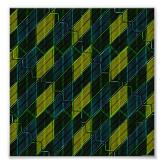 Modern Geometric Seamless Pattern Photographic Print