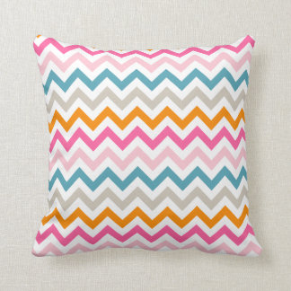 Modern Girl Colorful Chevron Zigzag Pillow Cushions