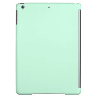 modern girly chic solid color powder green mint