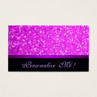 Modern Girly Sparkle Pink Glitter Purple Elegant