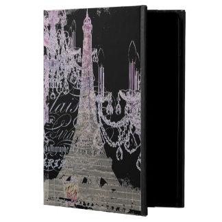 modern girly vintage chandelier paris eiffel tower iPad air cases