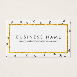 Modern Glam Business Card