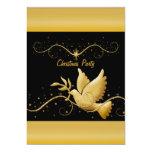 Modern gold black Christmas christian template 13 Cm X 18 Cm Invitation Card