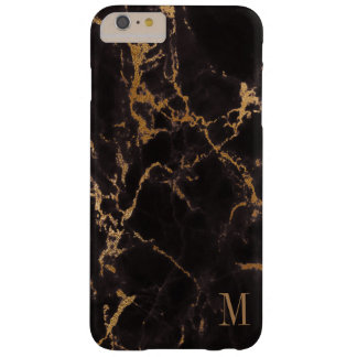 Modern Gold Glitter Barely There iPhone 6 Plus Case