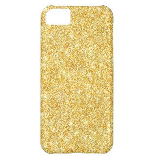 Modern Gold Glitter Trendy iPhone 5C Case