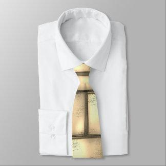 Modern gold/yellow/beige neck tie, elegant unique tie