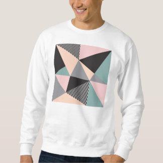 modern,graphic,design,black,pink,mint,cheker,trend sweatshirt