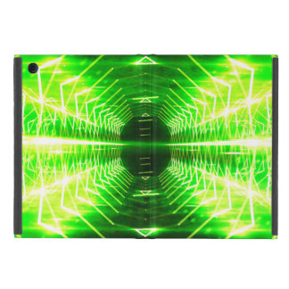 Modern Graphic Glowing Vortex - Cover For iPad Mini