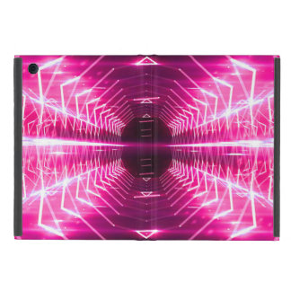 Modern Graphic Glowing Vortex, Pink - Case For iPad Mini