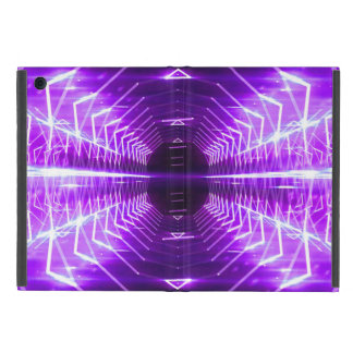 Modern Graphic Glowing Vortex, Purple - iPad Mini Cover