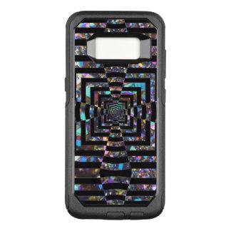 Modern Graphic Iridescent Optical Illusion Vortex, OtterBox Commuter Samsung Galaxy S8 Case