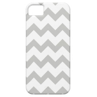 Modern Gray Chevron Pattern iPhone 5 5S Case iPhone 5 Case