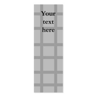Modern gray grid pattern business card templates