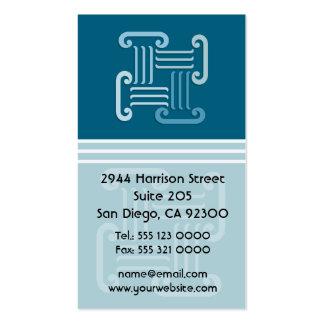 Modern Greek Columns Attorney Business Card