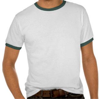 Modern Green Grey Turquoise Ikat Chevron Zigzag T Shirts