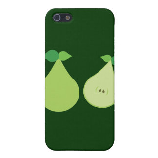 Modern Green Pear iPhone 5 Case