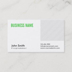 programmer business cards zazzle au