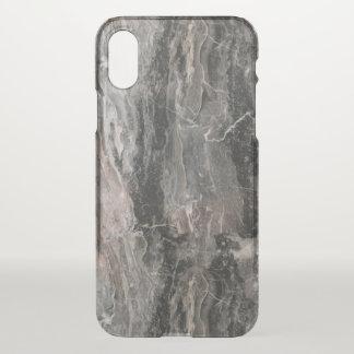 Modern Grey Tones Marble Texture iPhone X Case