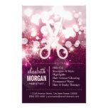Modern Hair Stylist - Pink Glitter Sparkle 14 Cm X 21.5 Cm Flyer