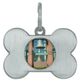 Modern Hanging Artistic Bell Photomanipulation Pet Tags